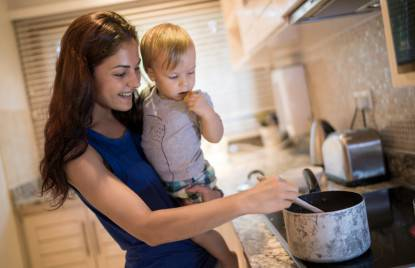 stipendio di una mamma