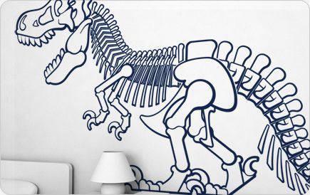 parete dinosauro