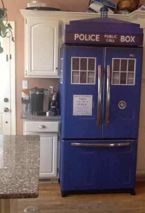 frigorifero tardis