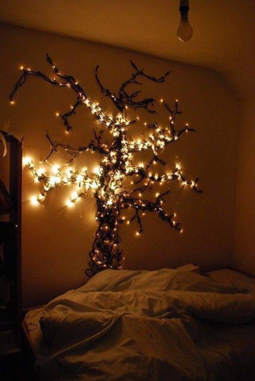 albero di luci