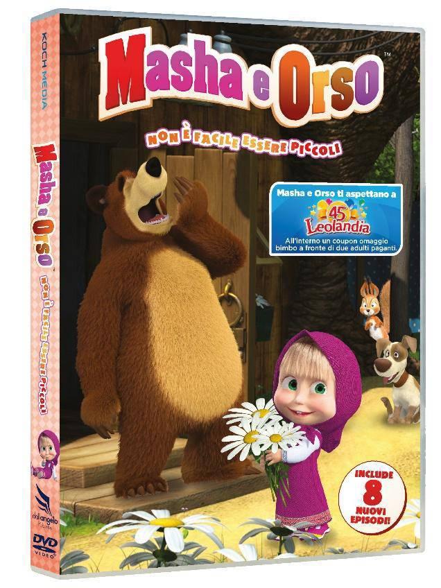Masha e Orso – Non è facile essere piccoli in dvd: recensione