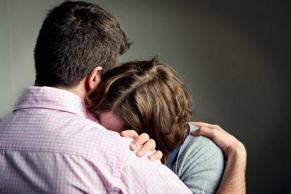 genitori in lutto