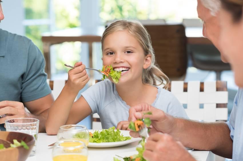 dieta dei bambini
