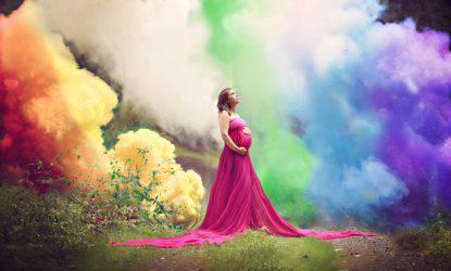 bambino arcobaleno