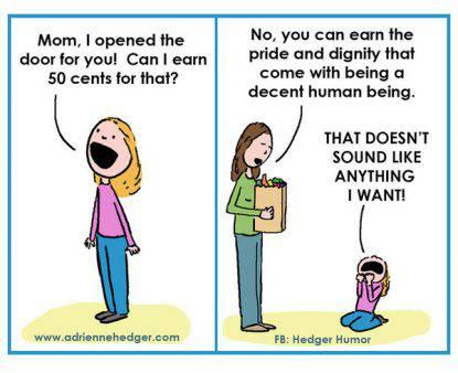 vignette su genitori e figli