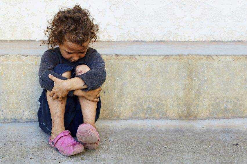 bambini a rischio povertà