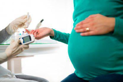 ferro in gravidanza diabete gestazionale