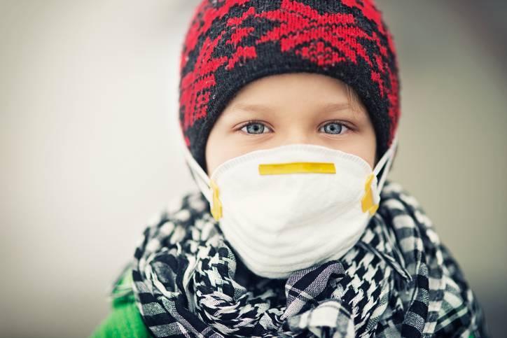 bambini e smog