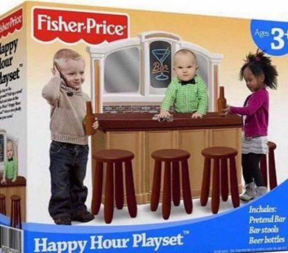 happy hour playset