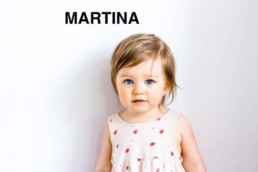 bambina nome martina