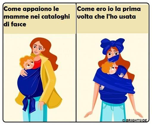 Estremamente Maternità e ironia: 15 simpatiche vignette tutte da ridere : WA43