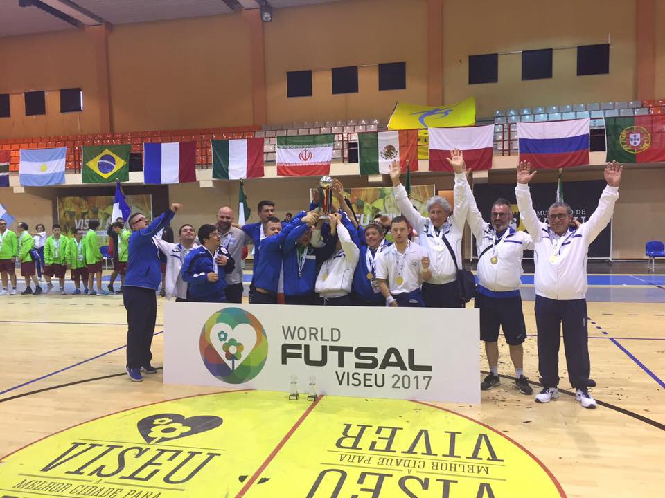 Calcio a 5 atleti down: l'Italia è campione del mondo!