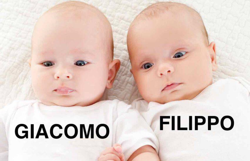 NOMI BAMBINO FILIPPO GIACOMO