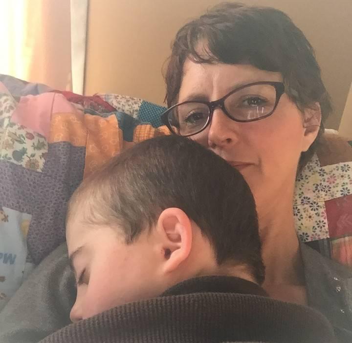 mamma di un figlio con bisogni speciali