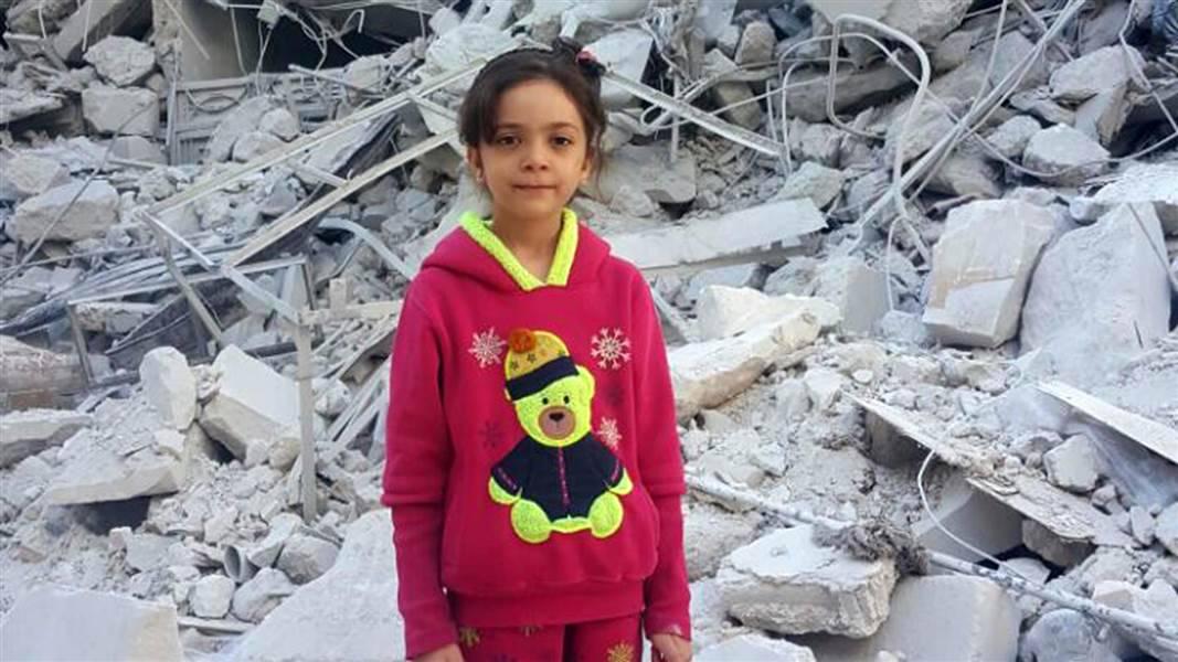 """""""Ecco com'è la guerra in Siria"""": bambina di 7 anni seguita da 360 mila persone"""