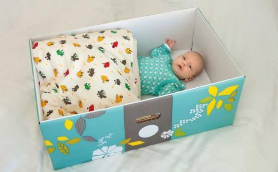 Rischio SIDS: le baby-box, ossia le scatole di cartone, sono sicure?