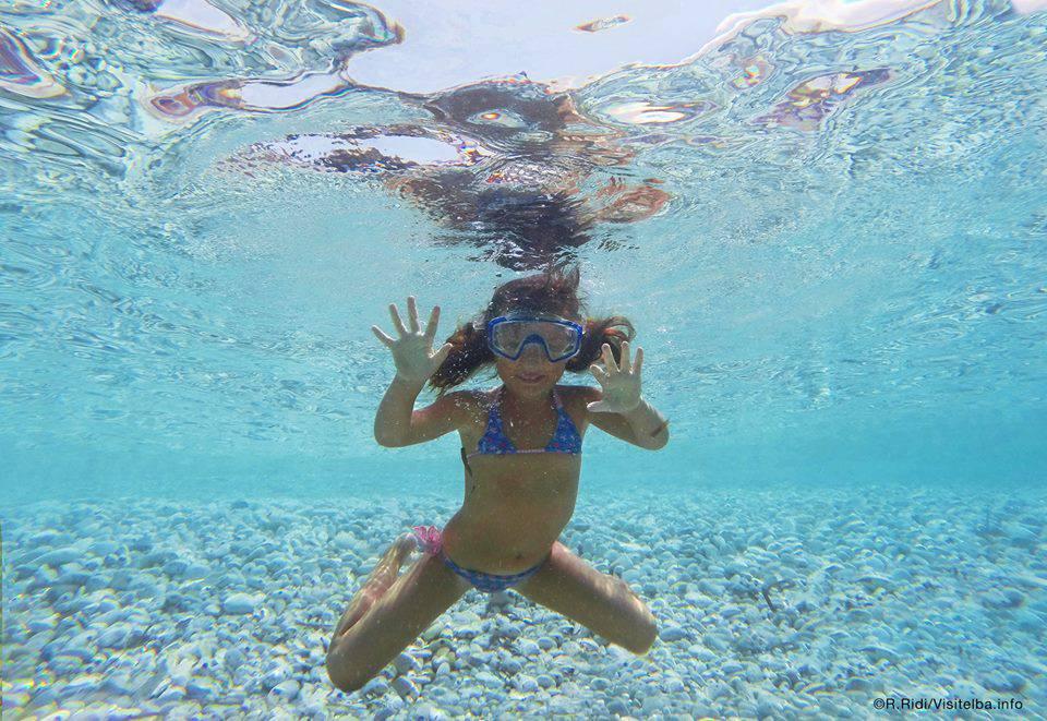 Isola d'Elba attività bambini