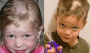 bambini che si tagliano i capell
