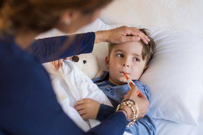 febbre dei bambini