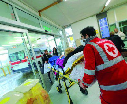 Influenza Suina 2018, Ospedali presi d'assalto