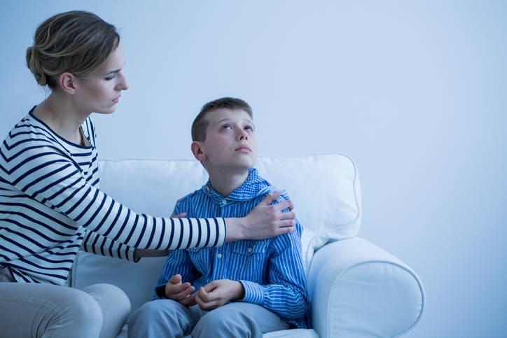 autismo paura contatto