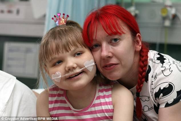 bambina malata terminale