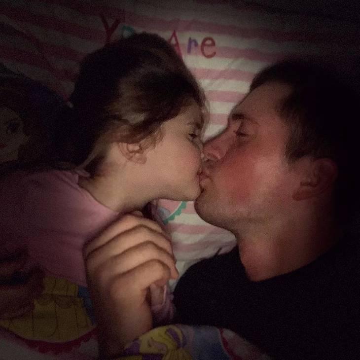 bacio dei genitori