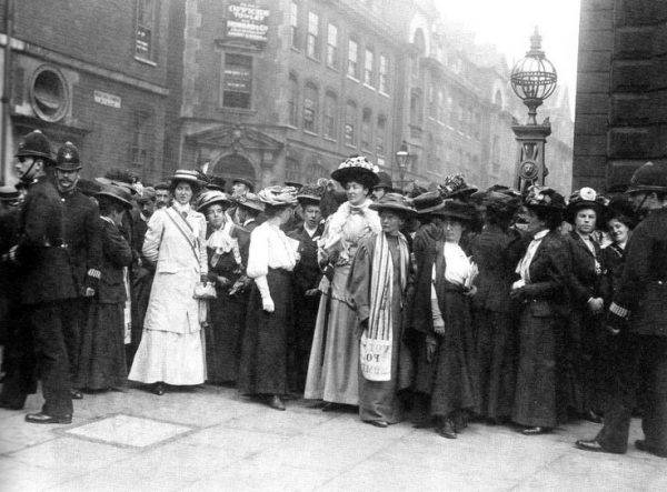 suffragette a londra