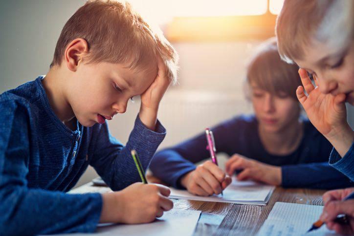 bambini e tecnologia difficoltà a scrivere