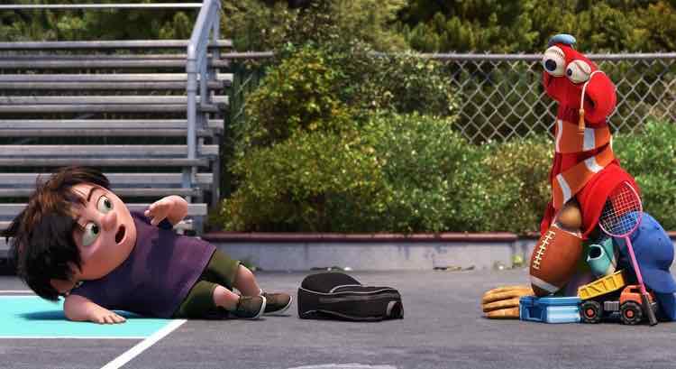 lou cartone Pixar contro bullismo