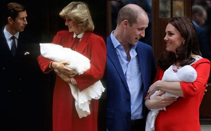 Kate Middleton abito parto