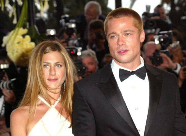 Jennifer Aniston e Brad Pitt: