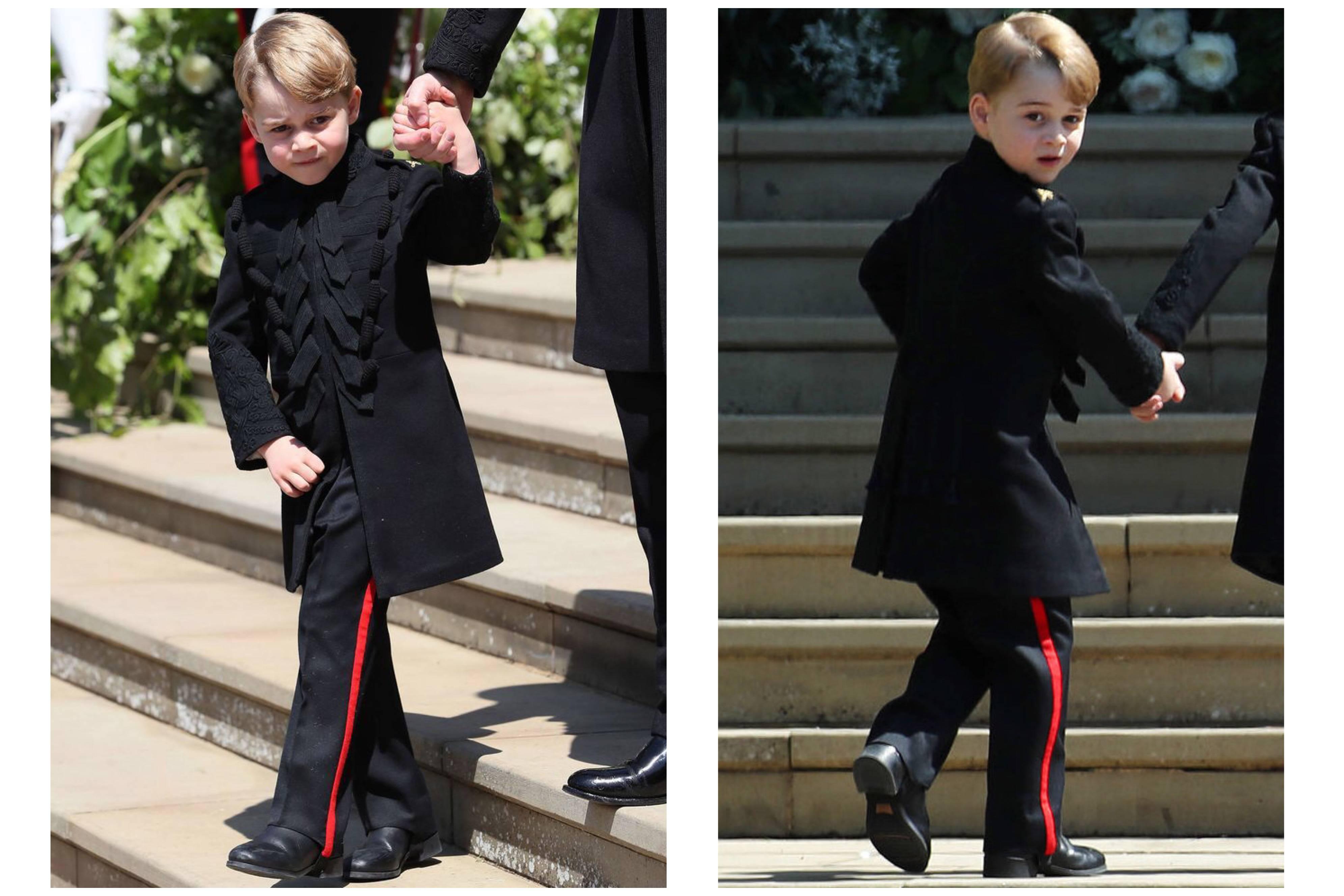 Baby George al Royal Wedding