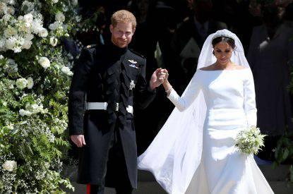 Meghan Markle incinta abito da sposa