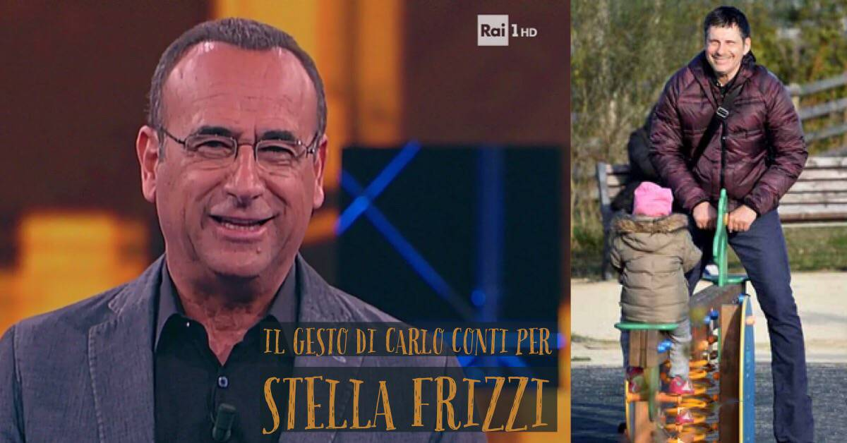 Stella Frizzi Carlo Conti
