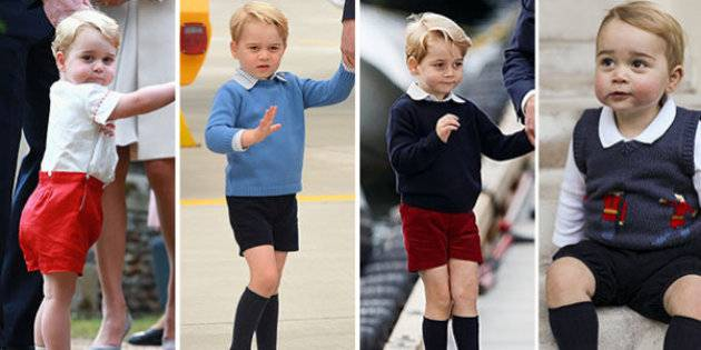 Baby George pantaloni corti