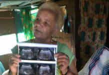 Maria de la Luz incinta 70 anni