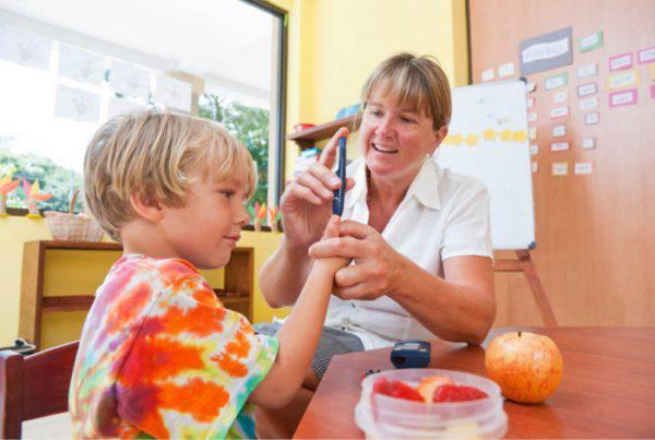 diabete nei bambini