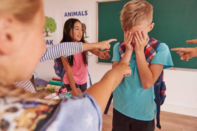 bullismo alle elementari