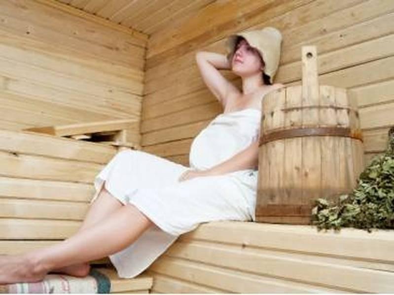 sauna in gravidanza
