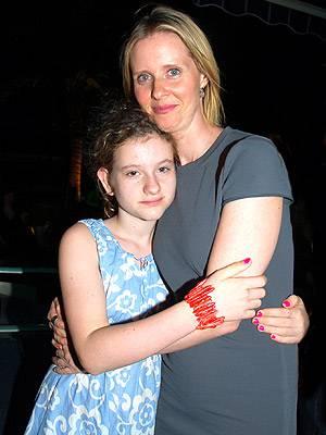 Samantha Mozes e Cynthia Nixon