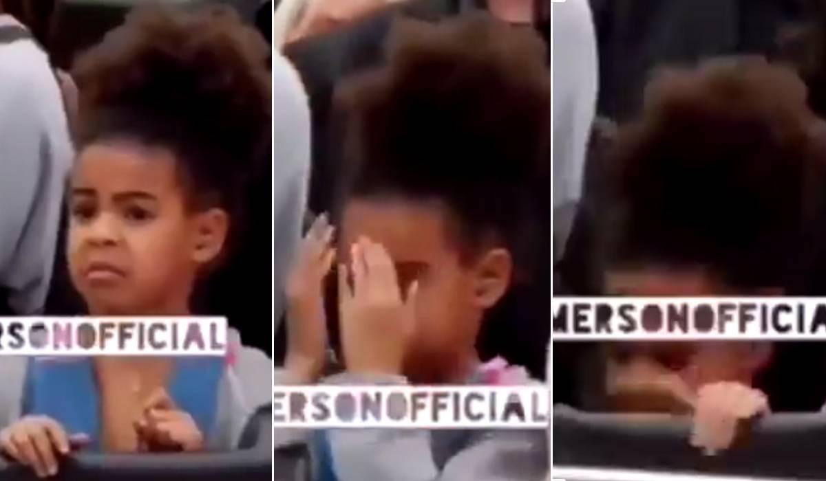 Mamma Beyoncé è troppo sexy: l'imbarazzo della piccola Blue Ivy (VIDEO)
