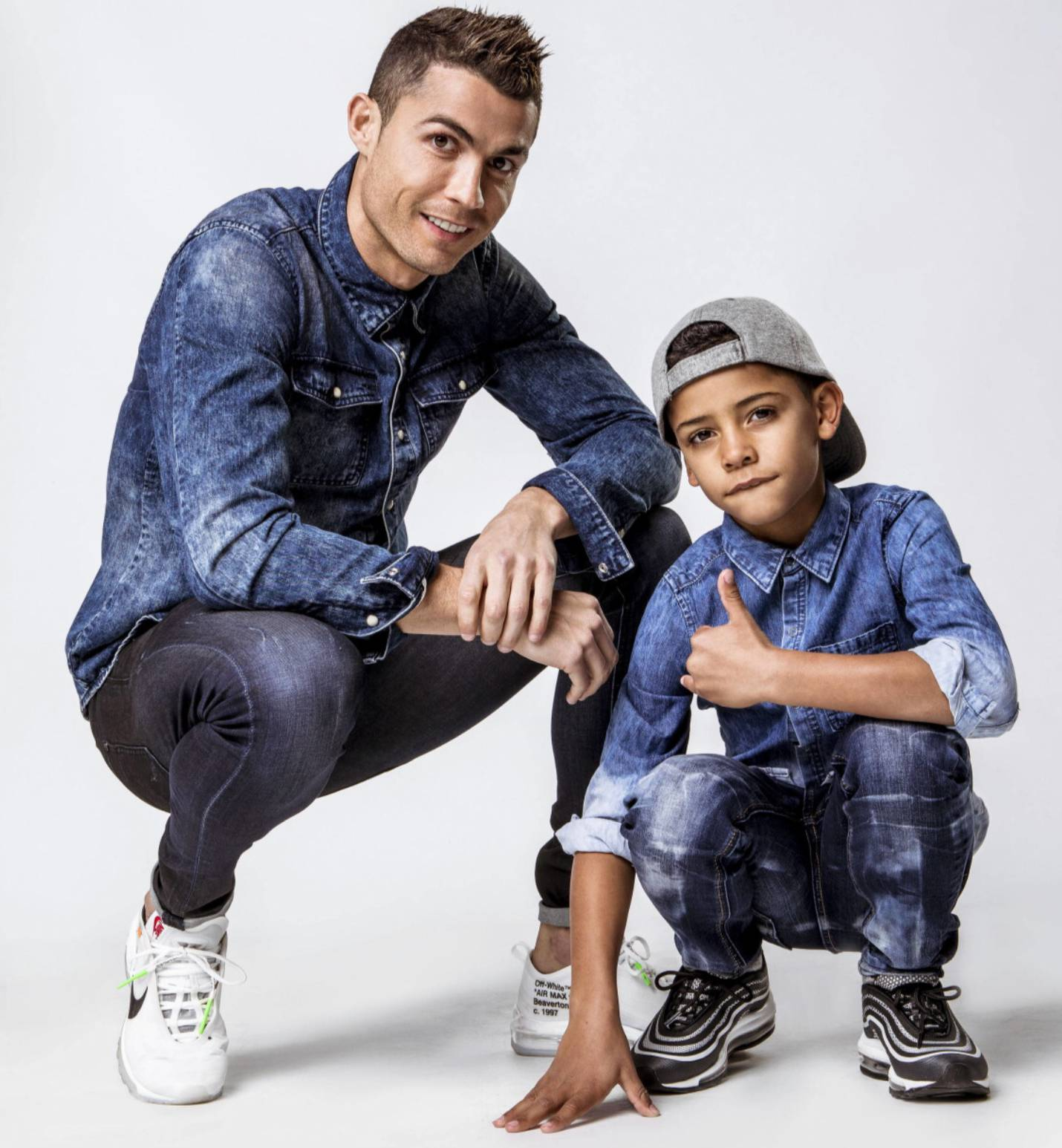 Cristiano Ronaldo figlio