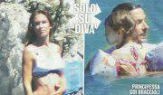 Silvia Toffanin incinta