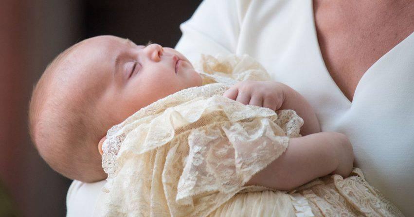 battesimo di Louis