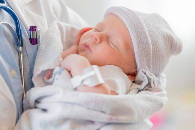 neonata salvata
