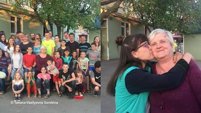 Tatyana Sorókina 81 Figli