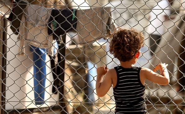 bambini rifugiati