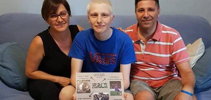 morto simone ragazzo malato di tumore