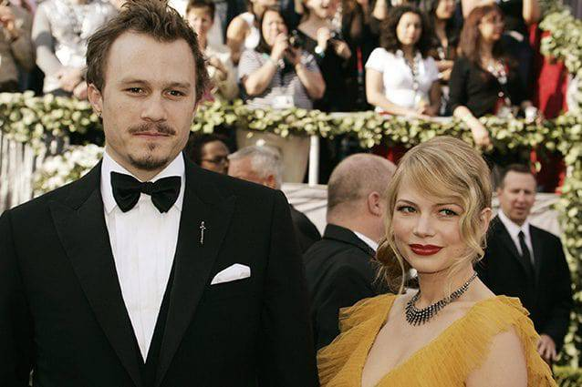 Michelle Williams e Heath Ledger